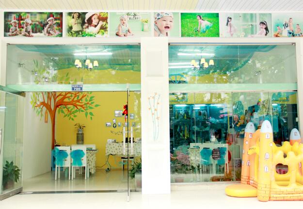 幼儿园风景画版面设计图片