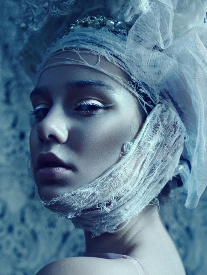 富有张力的时尚彩妆造型赏析图片