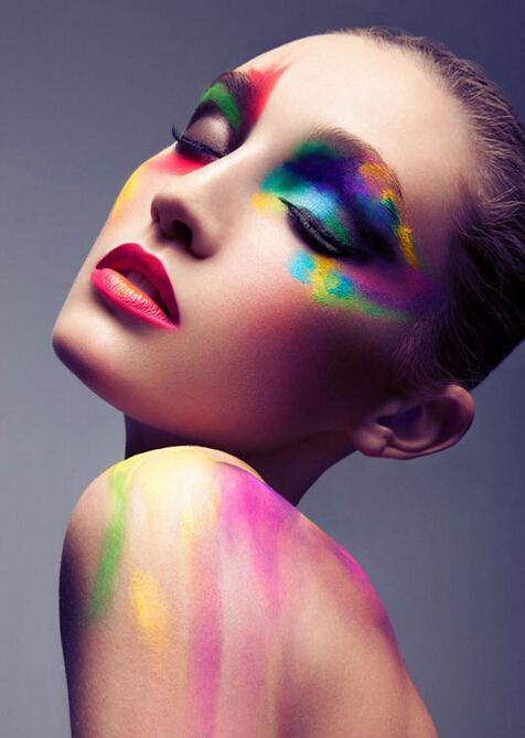 秋冬时尚彩妆大片 色彩斑斓图片演绎缤纷世界图片