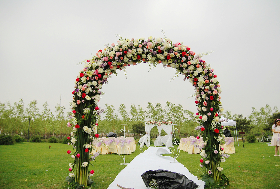 户外婚礼现场步骤高清大图独家分享