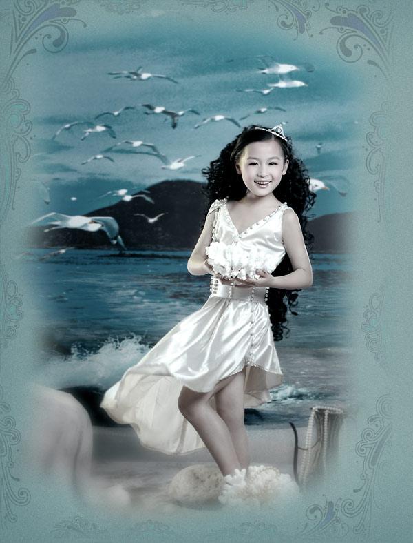 十二岁儿童美丽照片