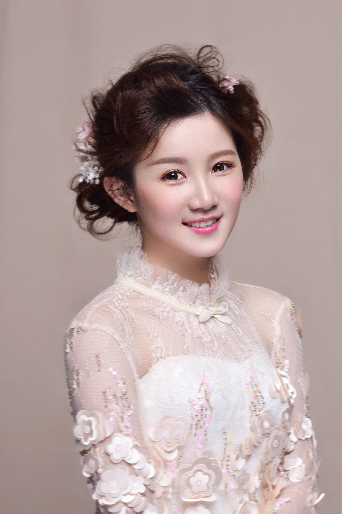 韩式新娘化妆造型 甜美新娘夺眼球图片