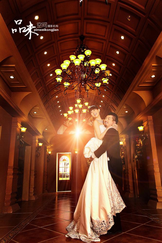 北京婚纱摄影【品味空间】花样年华复古婚纱照