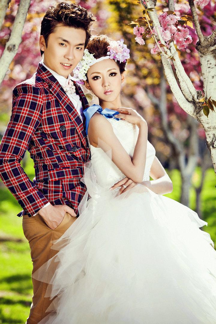 大连最专业的韩式婚纱照在哪儿【羽印象】