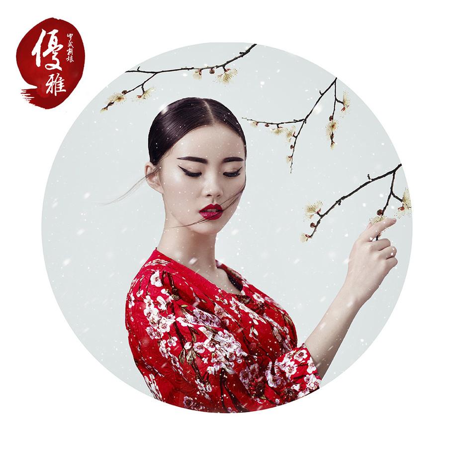 中国风造型——优雅中国图片