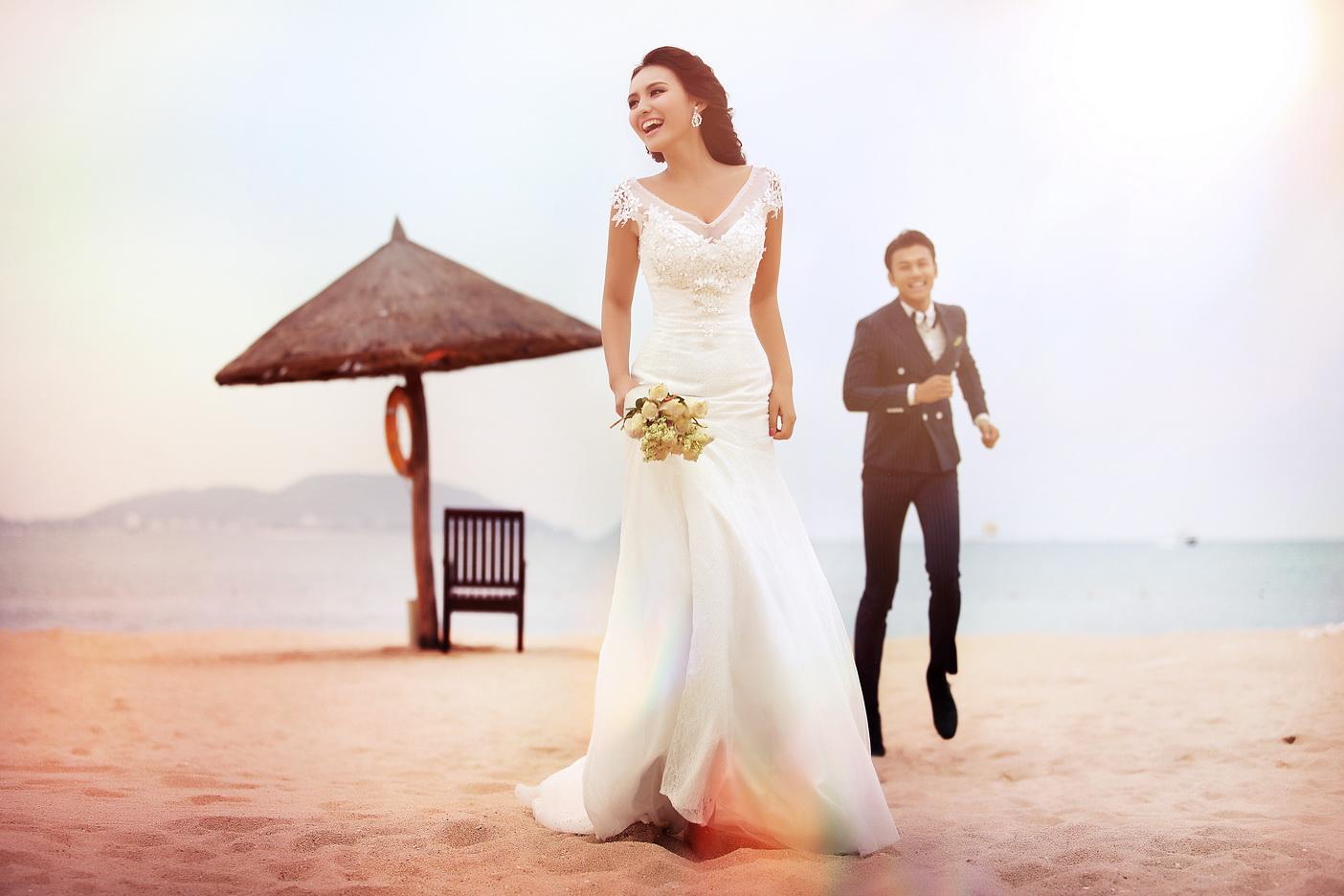 西安米兰婚纱摄影#_婚纱摄影作品