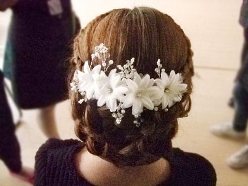 春日韩式新娘发型_化妆造型作品