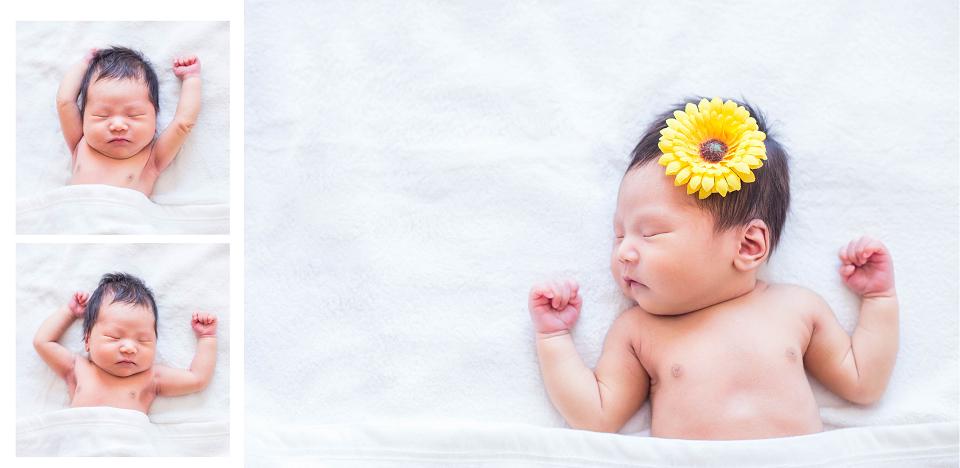 上门拍摄的新生儿,很可爱