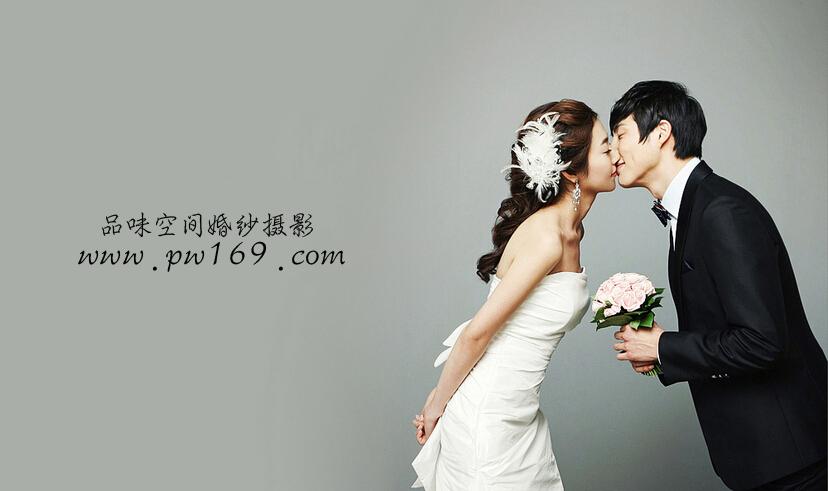 北京婚纱摄影前十名【品味空间】纯色韩式婚纱照欣赏