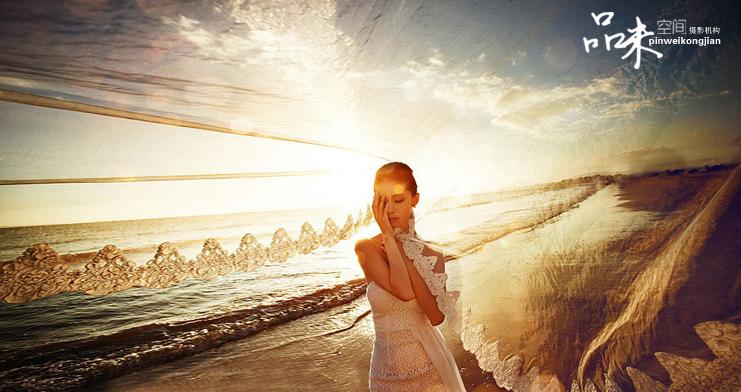 北京婚纱摄影海景【品味空间】海景婚纱照欣赏