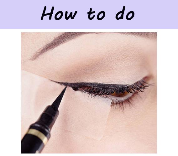 眼线液画眼线步骤技巧