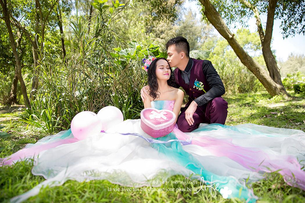 玫瑰海岸婚纱摄影