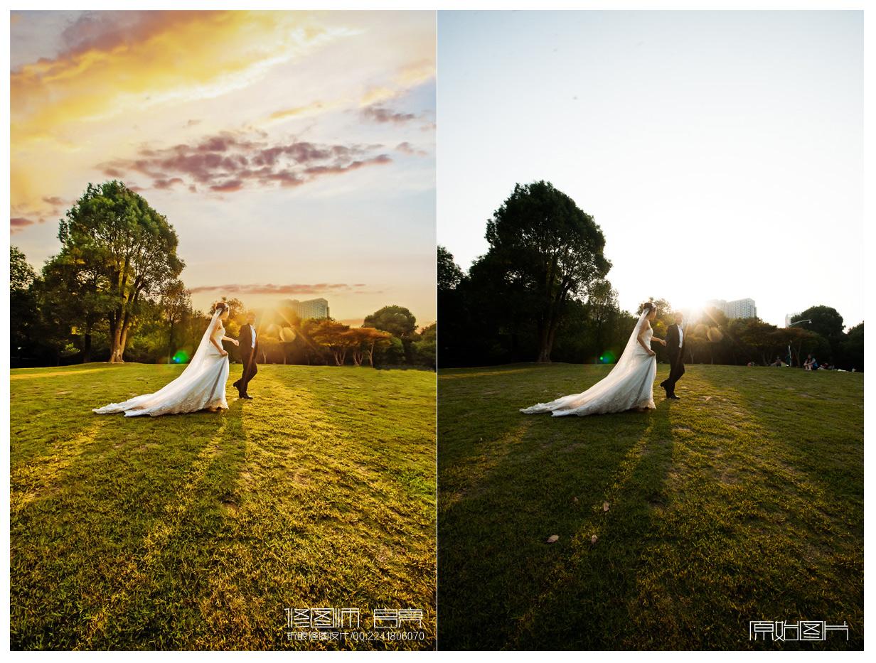 摄影后期修图后期前后对比图第二期