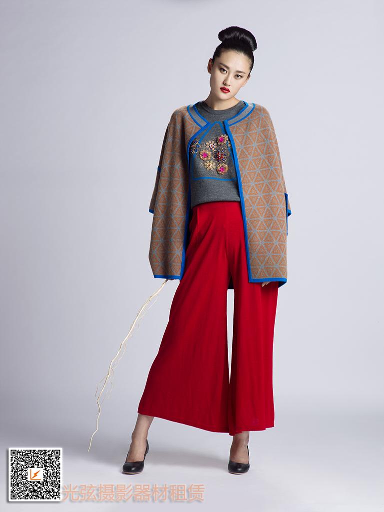 2015毛针织服装原创设计发布会设计师服装作品集