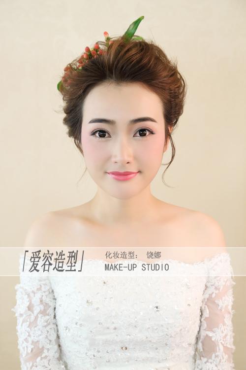 森系新娘造型图片