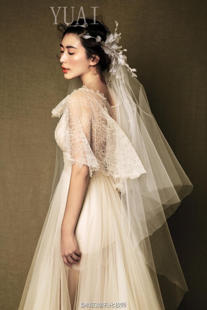 优雅韩式婚纱造型