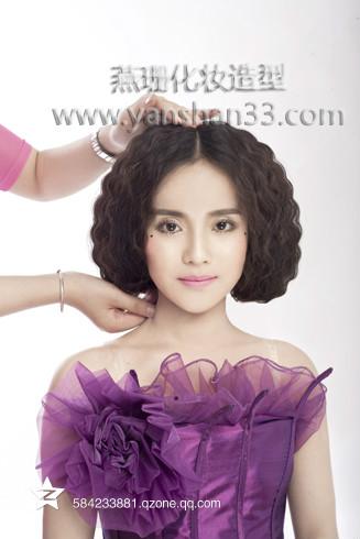 广州燕珊-发型步骤分享_化妆造型作品_黑光论坛