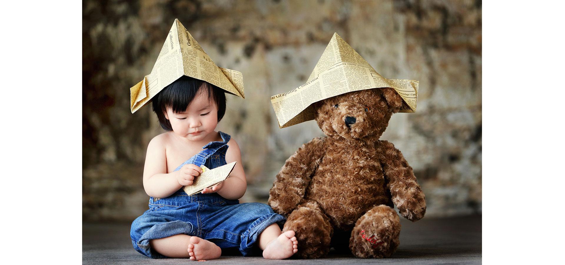 可爱小baby_儿童摄影作品