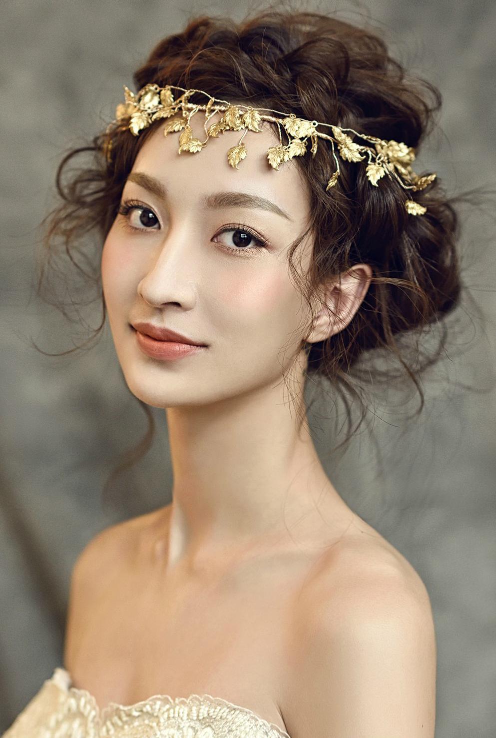 新娘造型妆容与波西米亚风格造型图片