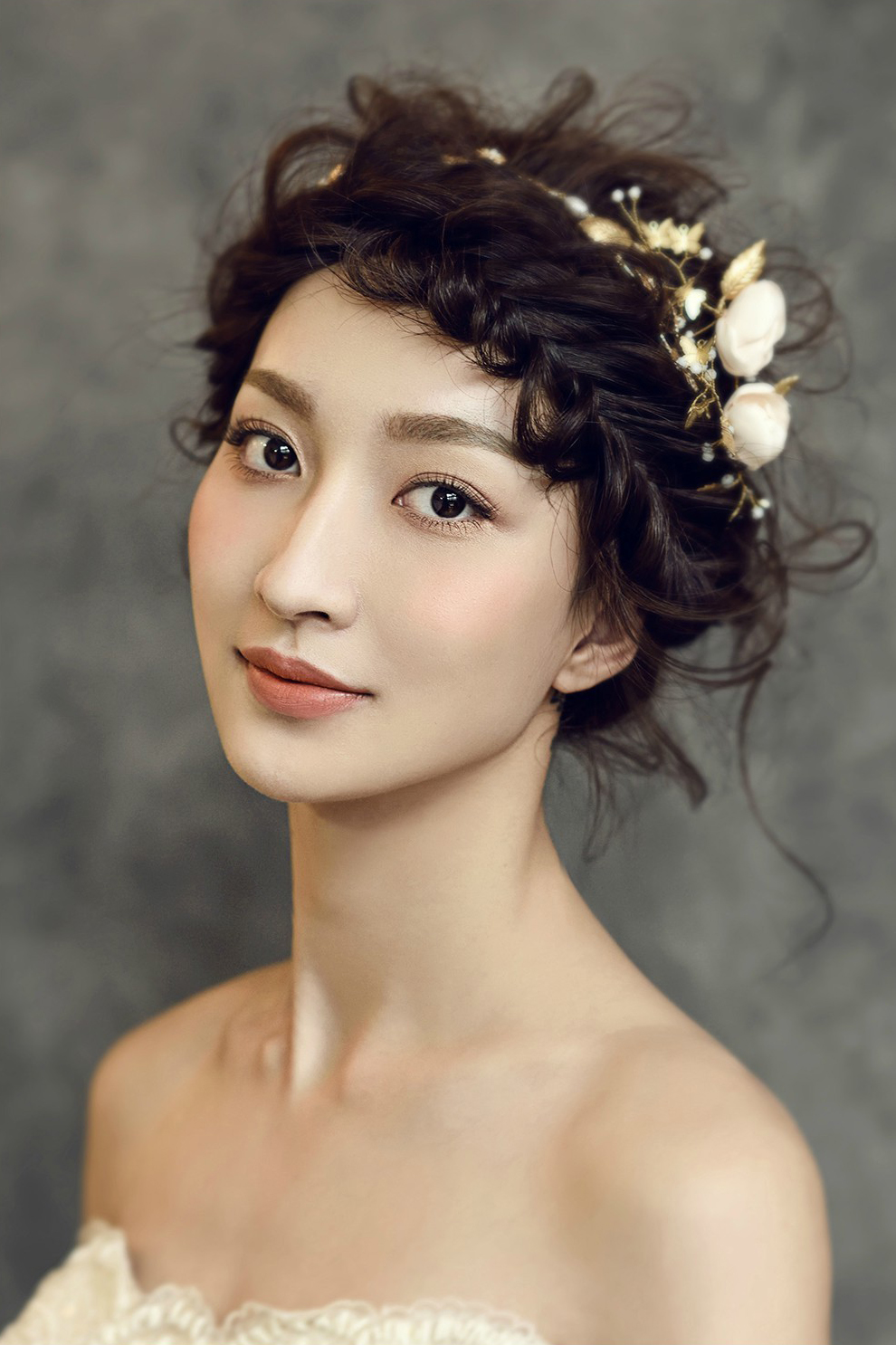 新娘造型妆容与波西米亚风格造型