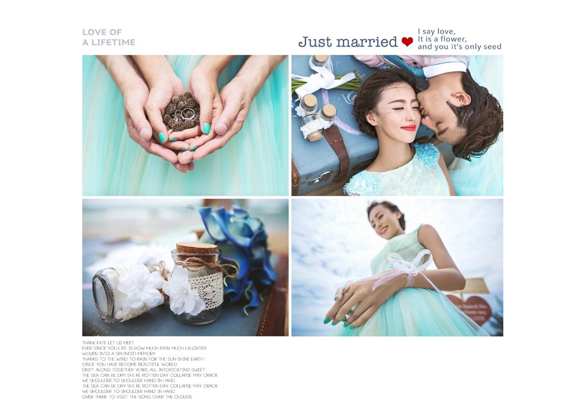 青岛婚纱摄影张小白婚纱摄影工作室最美客照