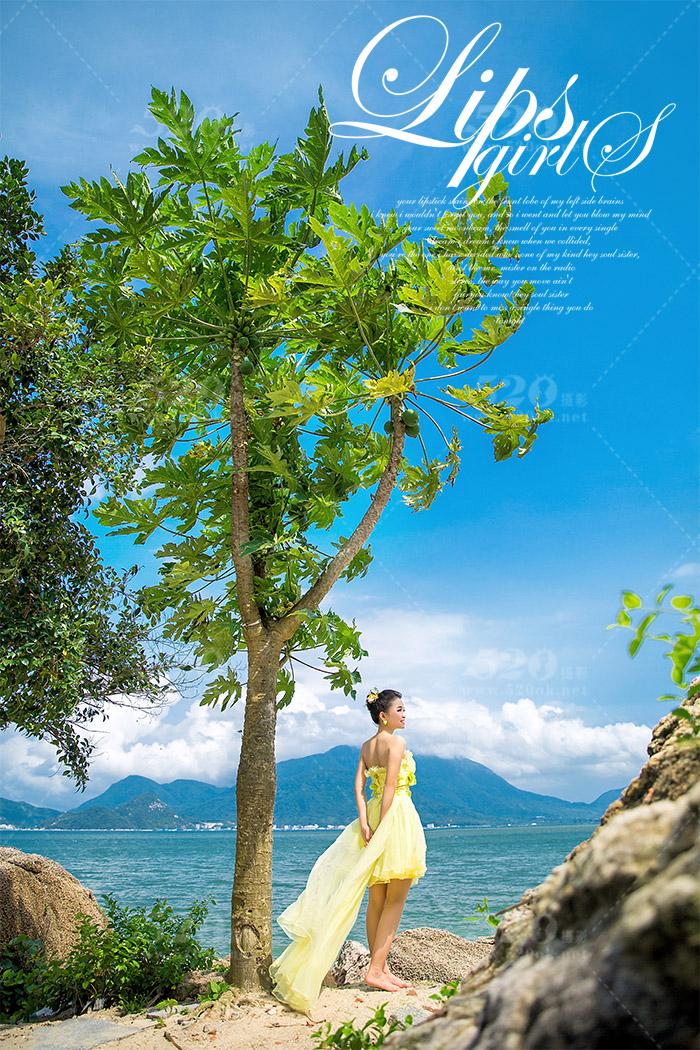 西西海岛婚纱照