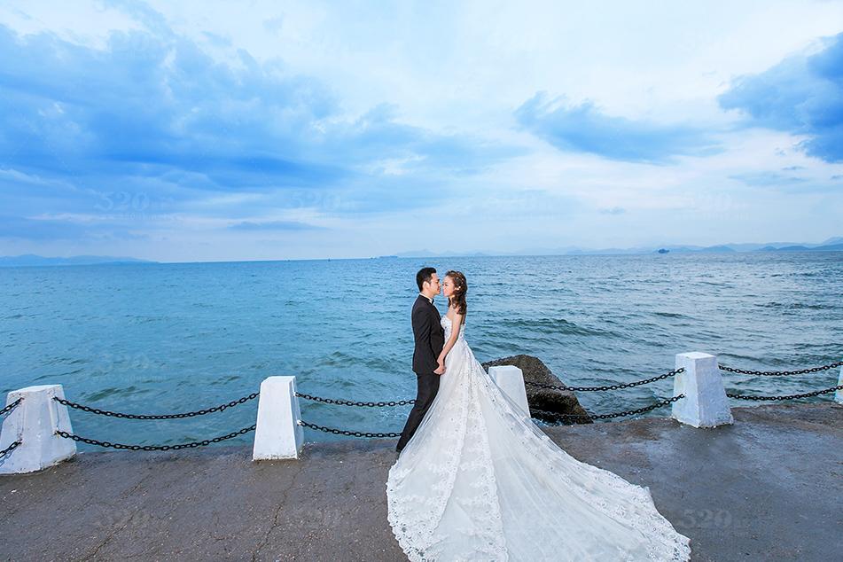 玫瑰海岸婚纱照 图片合集