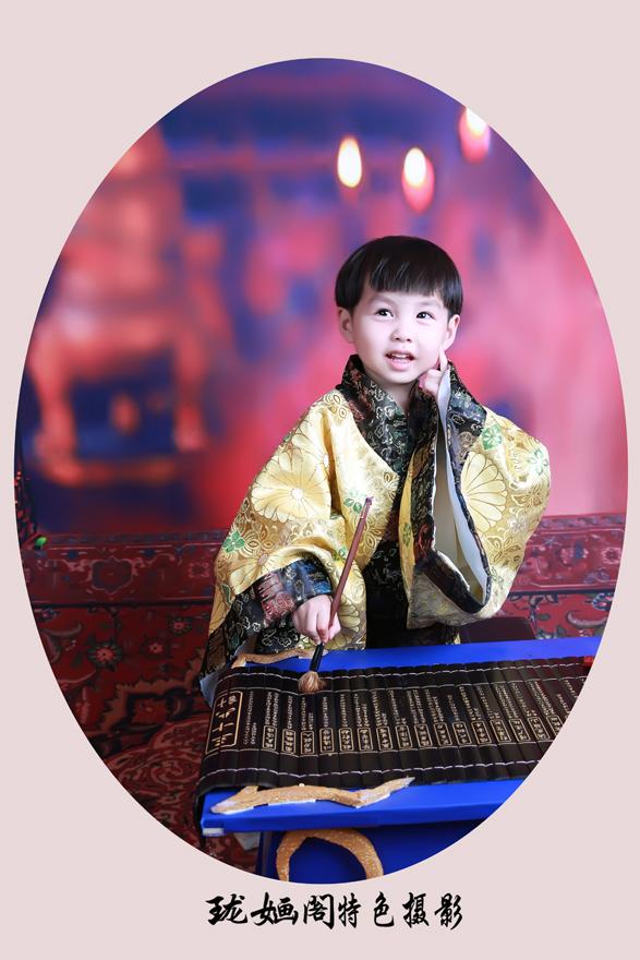 常熟儿童写真---珑婳阁男宝宝古装客片
