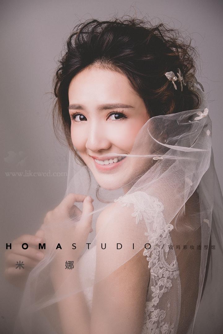 甜美韩式新娘造型