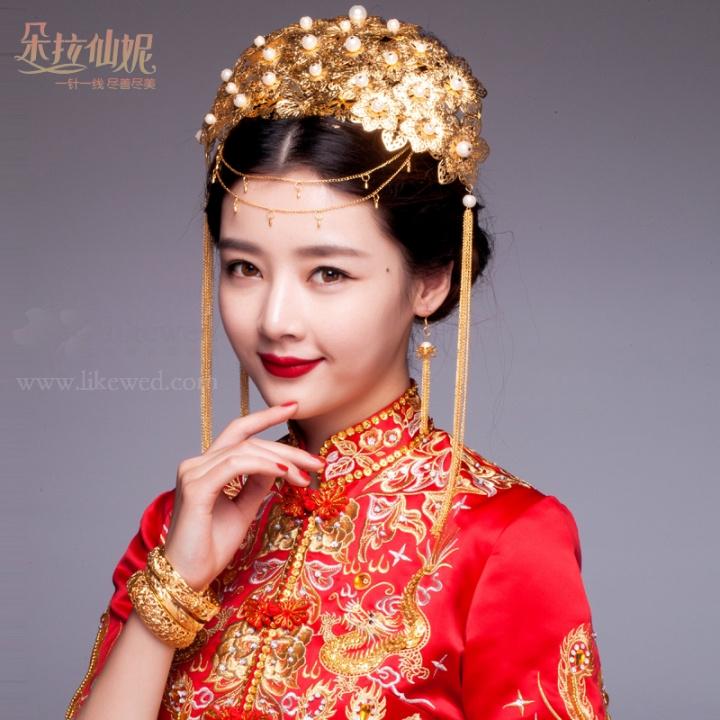 惊艳古典中式新娘造型