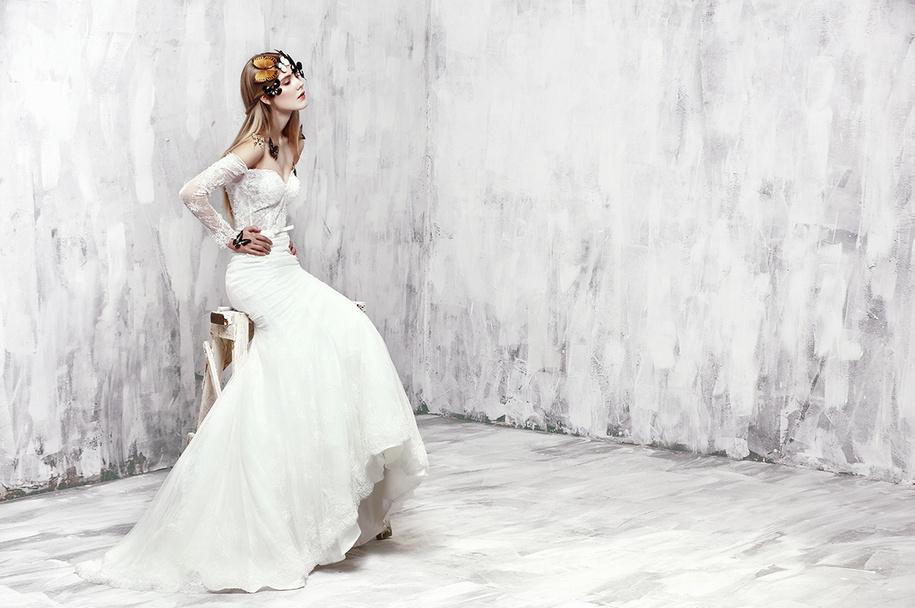 蝴蝶创意时尚新娘造型:butterfly bride图片