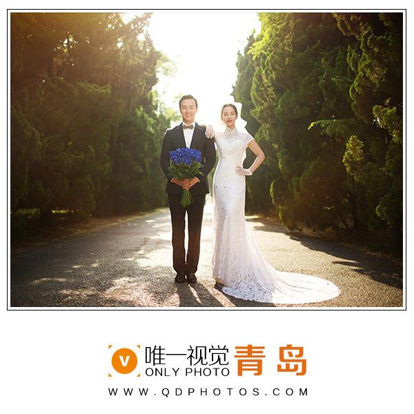 青岛八大关婚纱照景点