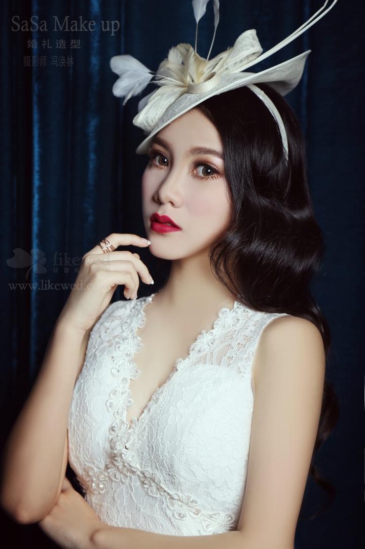 [新娘妆] 森林仙女系新娘彩妆造型 [新娘妆] 新娘复古风造型 [新娘妆]