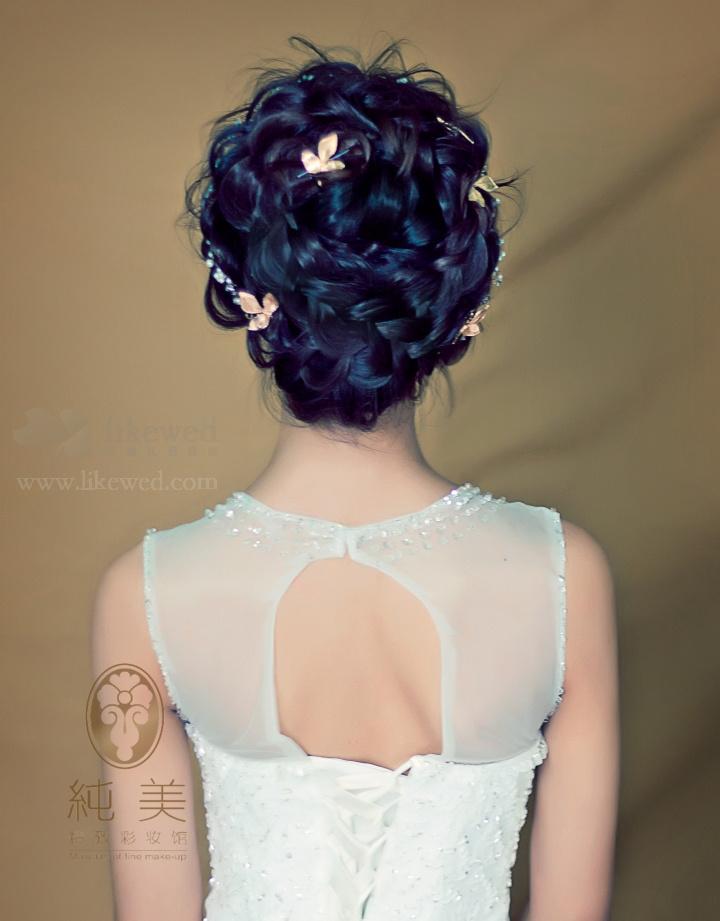 精致新娘妆容造型图片
