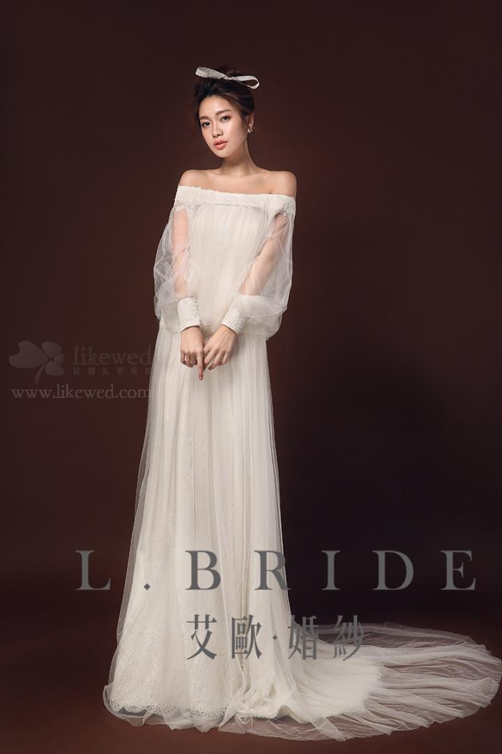 新娘婚纱造型