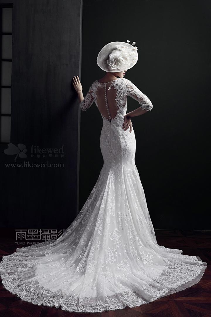 新娘婚纱:一袭白纱,十里芳华