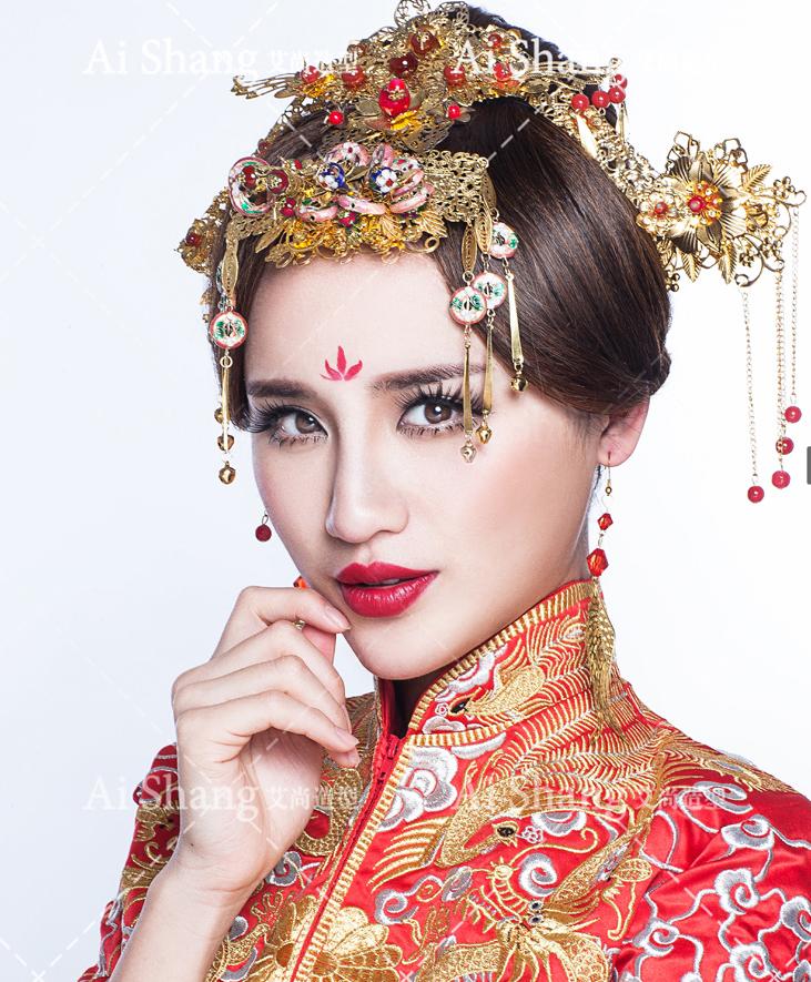 武汉艾尚造型 新娘妆面作品