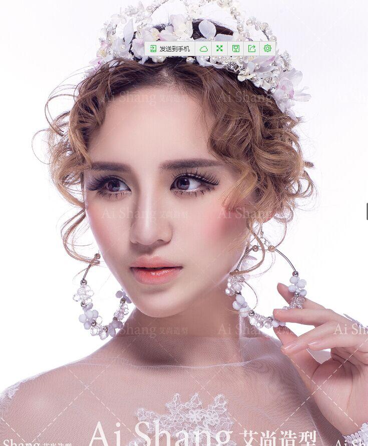 武汉艾尚造型-新娘妆面作品