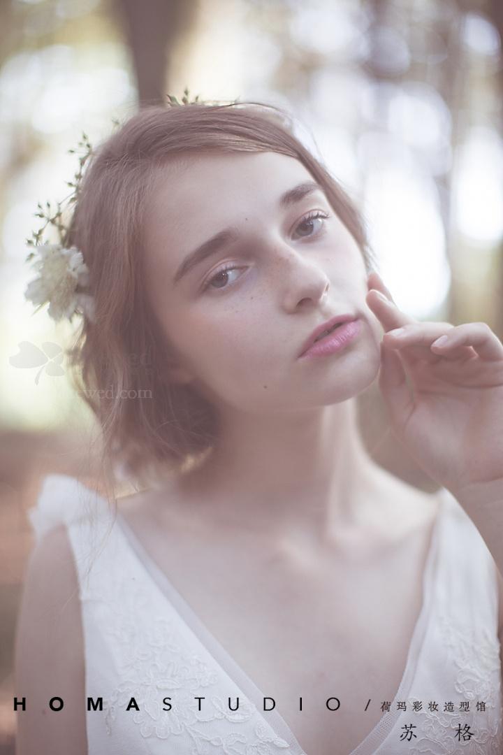 【新娘妆】森系新娘造型 美到骨髓里的仙气