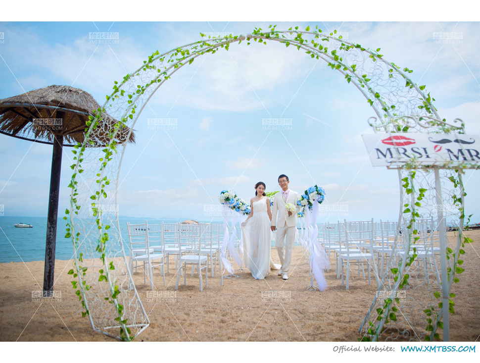 海边婚纱照团购