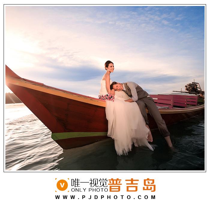 普吉岛当地婚纱摄影