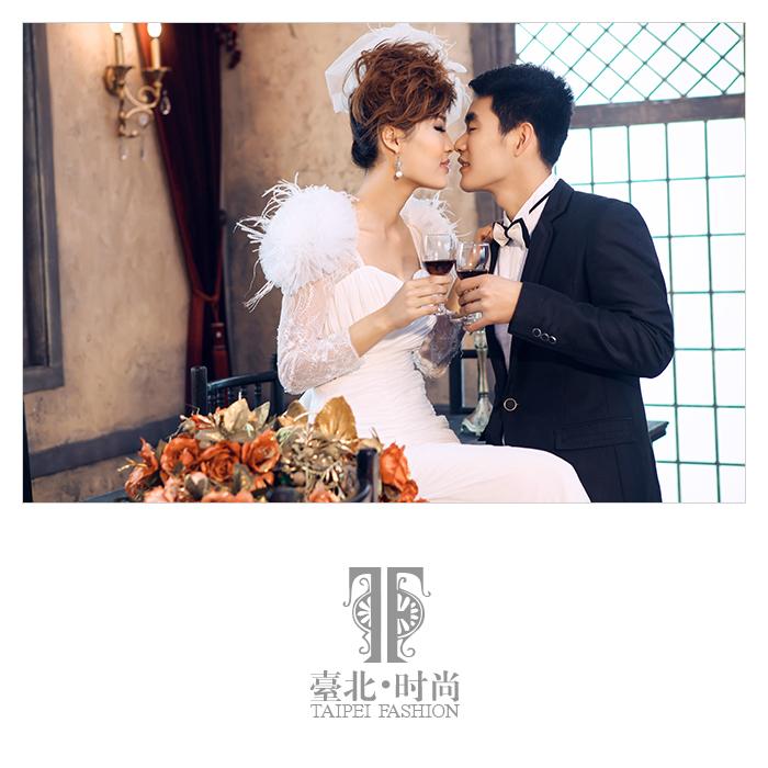 福州室内欧式婚纱照【台北时尚】