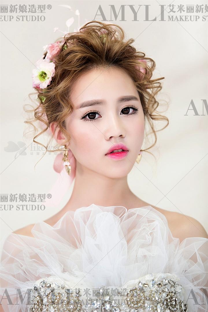 韩式纹理新娘造型欣赏