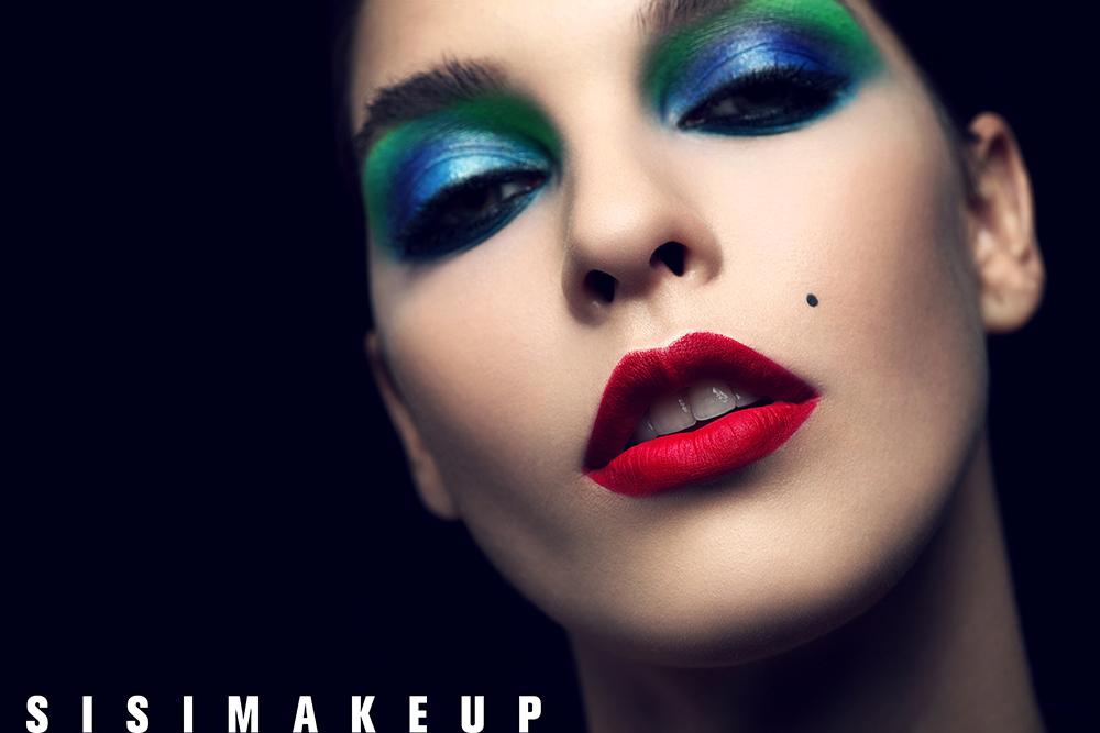 小丑妆容_化妆造型作品