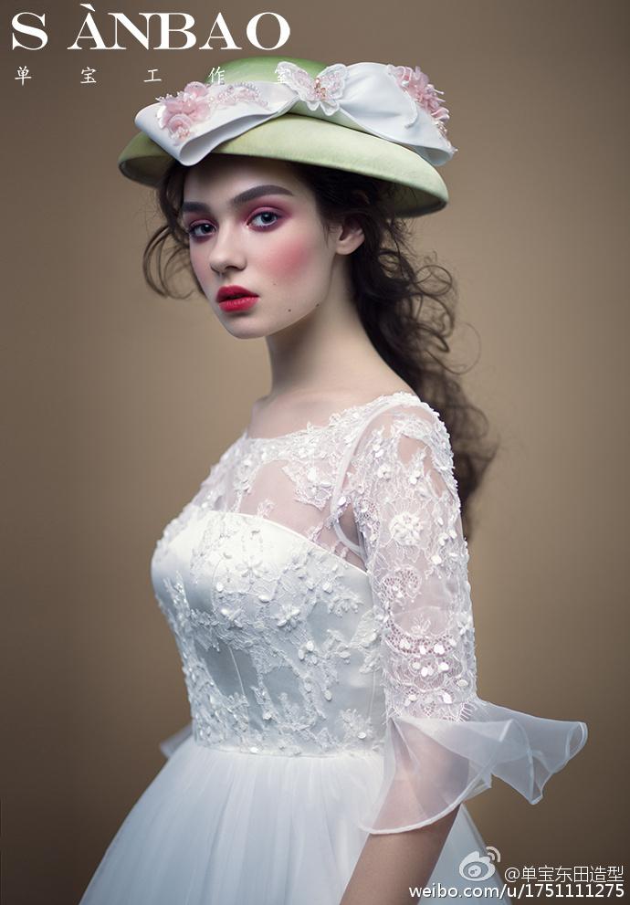 新娘造型欣赏 新娘妆容发型篇图片