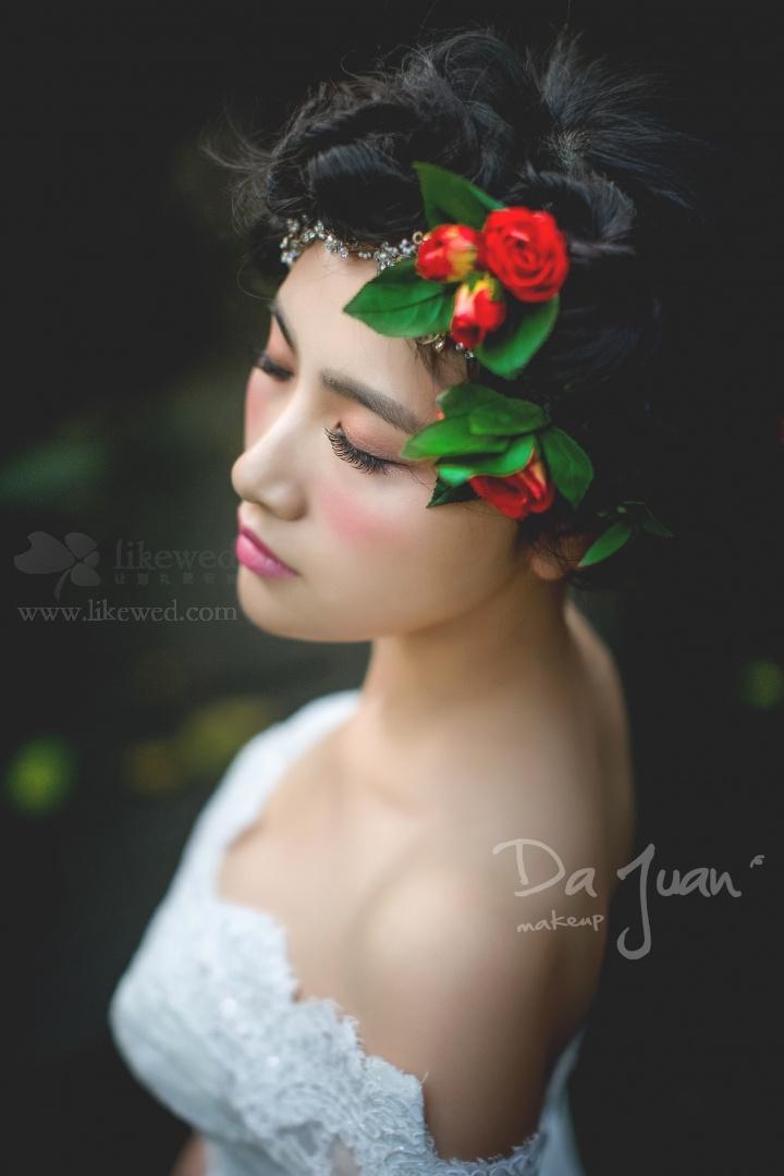 森系新娘妆发型图片展示
