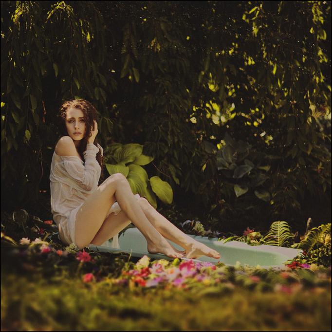 私房人像摄影:森林女神