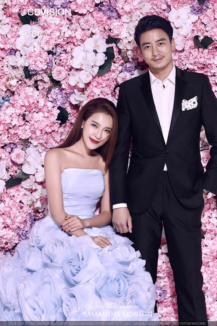 婚纱摄影必看:cd视觉2016春季流行趋势婚纱照之婚纱