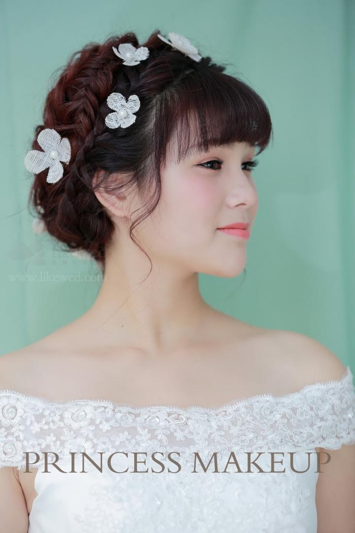 新娘造型:俏皮可爱_新娘妆作品