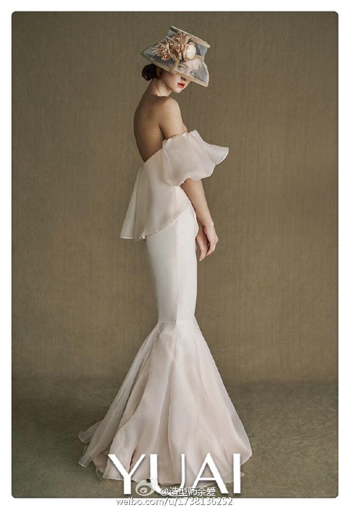 欧美复古宫廷风新娘造型欣赏